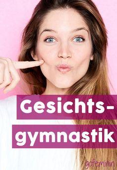 Mit diesen Übungen bleibt eure Haut im Gesicht schön straff! #antiaging #beauty #antifalten #beauty #gesichtsgymnastik