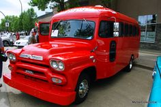 MSCC looks at the world's coolest road trip machine. Here's the link: http://mystarcollectorcar.com/september-2016-a-re-purposed-1959-gmc-school-bus-is-a-big-crowd-pleaser/ #59GMC9400custombus