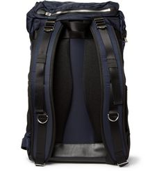 WooyoungmiPanelled Leather-Trimmed Backpack