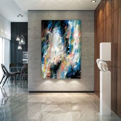 Extra Large Wall Art Knife Artwork Painting,Painting On Canvas Modern Wall Decor Contemporary Art, Abstract Painting Texture Art, Texture Painting, Art Original, Original Paintings, Art Sur Toile, Zen Painting, Abstract Paintings, Large Abstract Wall Art, Extra Large Wall Art