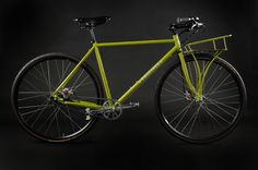 I am lusting after this Sweetpea bike! And isn't the color TDF?!