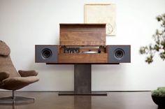 Modern Record Console //