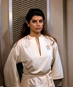Kirstie Alley as Lt Saavik (Star Trek II: The Wrath of Khan)