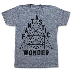 Fantastic Wonder Tee Unisex Gray