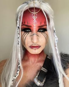 Sfx Makeup, Costume Makeup, Makeup Art, Witch Makeup, Gothic Makeup, Fantasy Makeup, Crazy Makeup, Cute Makeup, Krieger Make-up