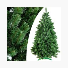 DecoKing 52518 180 cm Artificial Christmas tree Christmas tree Christmas tree green Fir Lena Christmas decoration. Buy it now by clicking on the picture. Only 39.95£.