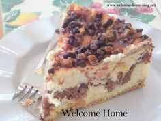 The Ultimate Turtle Cheesecake from Welcome Home