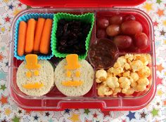 Mr. Mustache bento in the Yumbox