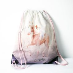 backpack bag horse