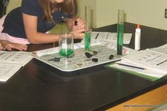 Science Ideas Grades 5-8 - the Rainbow Lab looks fun!!
