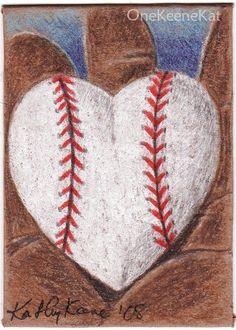 baseball heart.