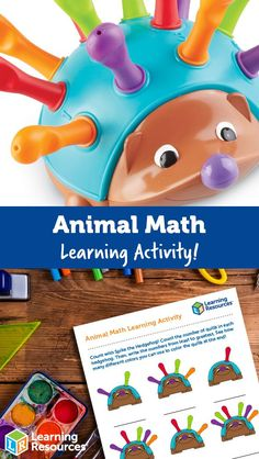 Enjoy learning early counting skills with our cute friend, Spike! Special Education Classroom, Early Education, Motor Activities, Activities For Kids, Homeschool Books, Early Math, Math Concepts, Children's Picture Books, Cute Friends