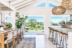 We're just days away from moving into our house (more on that here), so I thought I'd share a little breezy design inspiration in the form of one very cool home in Australia; that also happens to be a