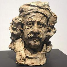 MOONIQ PRIEM - HOME Geometric Sculpture, Modern Sculpture, Sculpture Clay, Sculptures, Sculpture Portrait, Jim Morrison Movie, Young Art, Rembrandt, Life Drawing