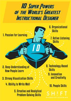 10 Super Powers of the World's Greatest Instructional Designer