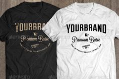 7 premium t-shirt templateDesign Devisers T Shirt Design Template, Mockup, Cool Designs, Shirt Designs, Templates, Awesome, Link, Mens Tops, Shirts