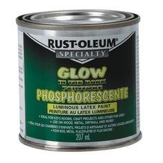 out door glow in the dark paint | Home Hardware - 207mL Glow in the Dark Latex Paint