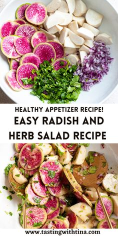 Appetizers For A Crowd, Easy Appetizer Recipes, Healthy Sides, Healthy Side Dishes, Fresh Salad Recipes, Healthy Recipes, Spicy Grilled Shrimp, Roasted Radishes, Superfood Salad