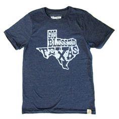 God Bless Texas Crew Neck Tee 387744