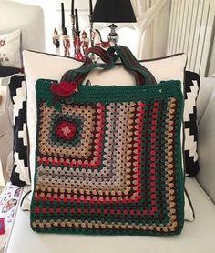 Knitting patterns, knitting designs, knitting for beginners. Crochet Clutch, Crochet Handbags, Crochet Purses, Crotchet Bags, Knitted Bags, Knitting Designs, Crochet Designs, Bag Patterns To Sew, Crochet Patterns