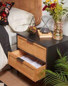 Bedroom Themes, Bedroom Styles, Bedrooms, Cosy Interior, Interior Design, California Bedroom, Rattan, Nordic Style, Ikea Hack