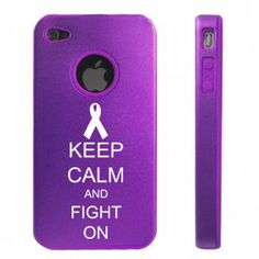 Keep Calm and Play On Soccer Aluminum and Silicone Case for iPhone - Purple. Apple iPhone 4 Purple Aluminum & Silicone Case Cover Keep Calm and Play On Soccer. Apple Iphone, Iphone 4, Iphone Cases, Samsung Cases, Losing My Best Friend, Pancreatic Cancer Awareness, Buy Apple, Best Cell Phone, Purple Ribbon