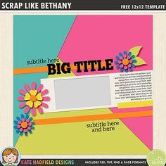 Free Scrapbook Templates | 670 Best Free Digital Scrapbook Templates Images In 2019 Digital