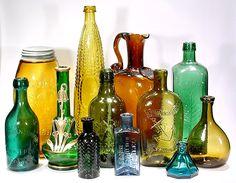 Great Antique Bottles & Historical Flasks