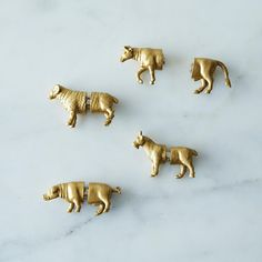 Animal Magnets & Card Holders on Provisions by Food52  I don't need these at all - but they are so cute!