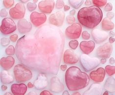 424 images about Pink Treasures on We Heart It | See more about pink, aesthetic and inspo Pink Marshmallows, Pink Aesthetic, Heart, Hearts