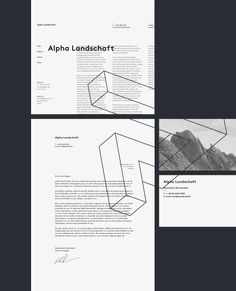 Alpha Landschaft / Identity - Slava Kirilenko