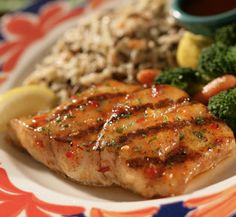 Red Lobster Spicy Pineapple Glazed Salmon