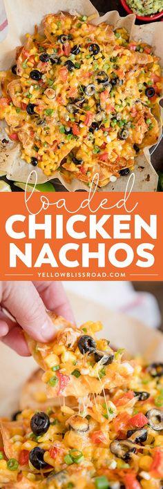 Loaded Chicken Nacho