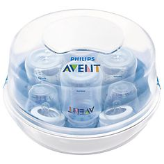 Baby Bottle Sterilizer Philips Avent Microwave Electric Steam Pacifier Travel for sale online Baby Must Haves, Tire Lait, Avent Baby Products, Baby Shooting, Best Baby Bottles, Baby Bottle Sterilizer, Breastmilk Storage, Bottle Warmer, Baby Jogger