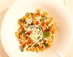 Hämmentäjä: Ihana italialainen kurpitsapasta. Lovely italian pumpkin pasta.