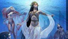 Ondina - Seres Mitológicos y Fantásticos