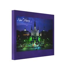 New Orleans Louisiana Gallery Wrapped Canvas