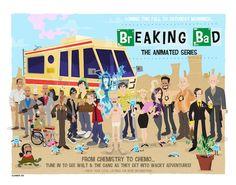 Awesome Breaking Bad Art Exhibition - My Modern Metropolis
