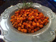 The Fire House Chef: Savory Roasted Sweet Potatoes Recipe