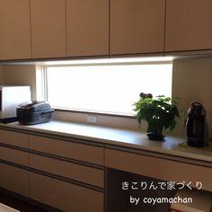 #80 小さな後悔ポイント 窓編 | きこりんで家づくり House, Kitchen Cabinets, Cabinet, White Wash, Through The Window, Home Decor, Kitchen