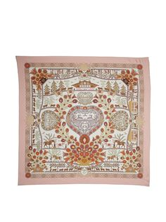A vintage Hermes scarf - we'll take two, please...
