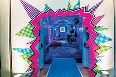 A Pop Art-inspired bat mitzvah, designed by Danielle Couick of Magnolia Bluebird Design & Events, was held at the Decatur House in Washingto... Photo: Rodney Bailey