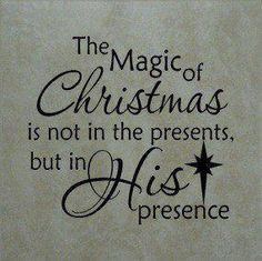Jesus is the reason for the season.                                                                                                                                                                                 More