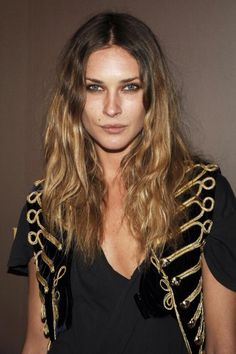 Messy beachy waves. Erin Wasson <3