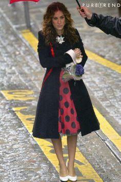 Carrie Bradshaw - SATC in Paris - Christian Lacroix coat - I want it !