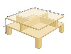 Zen Garden Coffee Table By Rob Palmer A Woodworking Student At Burlington College It 39 S Very