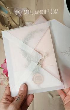 Personalised Wedding Invitations, Elegant Wedding Invitations, Wedding Invitation Cards, Personalized Wedding, Vintage Wedding Cards, Before Wedding, Flower Invitation, Pampas Grass, Diy Wedding Decorations