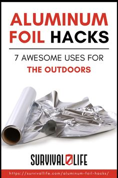 Take these aluminum foil hacks because you never know when they could be handy around your home or in a survival situation! #survivallife #survival #preparedness #survivalist #prepper #camping #outdoors #spring #outdoorsurvival #aluminumfoilhacks #survivalhacks Survival Hacks, Survival Life, Survival Skills, Southern Cooking Recipes, Camping Outdoors, Outdoor Survival, Self Defense, Free Samples, Homemade Gifts