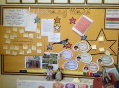 Love this idea for a Literacy working wall.