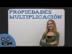 PROPIEDADES DE LA MULTIPLICACIÓN   Ap Spanish, Spanish Grammar, Teaching Spanish, Spanish Language, Teaching Math, Maths, Dual Language, Flipped Classroom, Spanish Classroom
